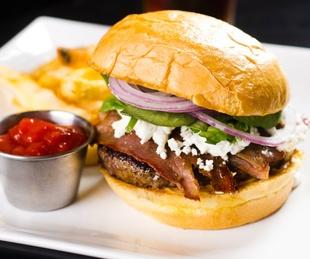 Alamo Drafthouse burger