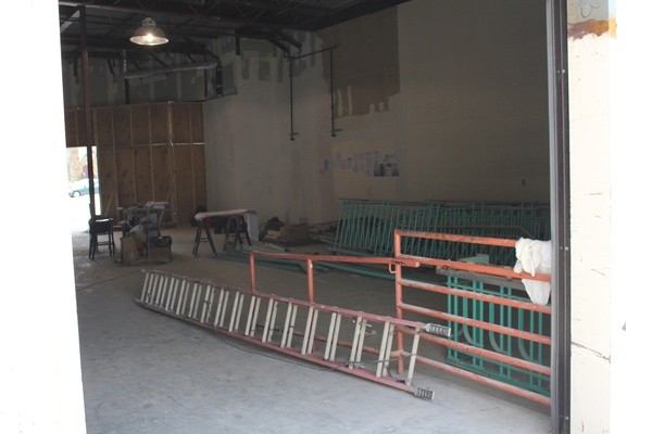 Alabama Theater Construction, Interior, June 2012