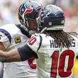 DeAndre Hopkins Schaub Texans Titans