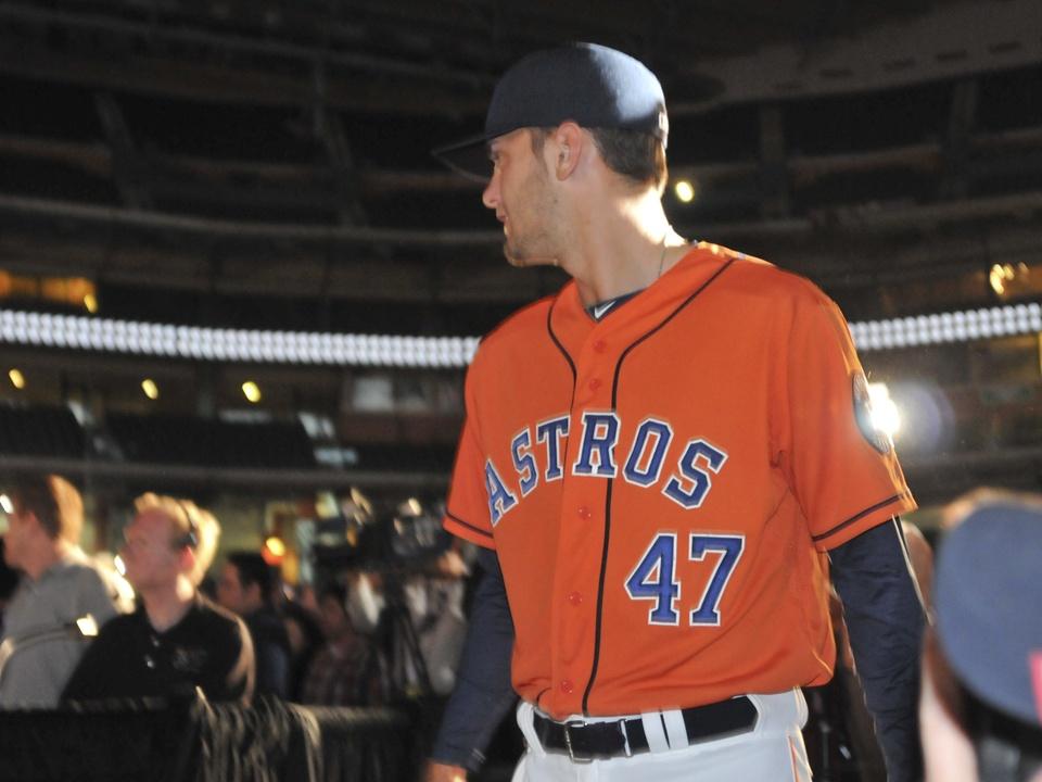 Astros new orange uniform