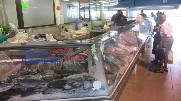 Stephan Lorenz Noumea, New Caledonia November 2014 Visit the market to see local seafood and grab an espresso.