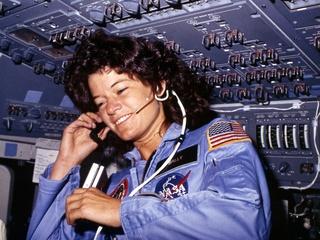 Sally Ride, astronaut, NASA