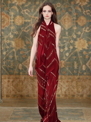 Clifford Fashion Week New York fall 2015 Tory Burch March 2015 Look 34