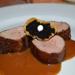 News, Shelby, Tony's 50th, Nov. 2015, Medallions of Veal with caviar