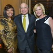 15 Lora and Dr. John Clemmons, from left, with Kelli Blanton at the Cason-Thrash Bulgari dinner April 2014