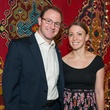 Will and Katie Miller at the Abraham's Oriental Rug dinner September 2014