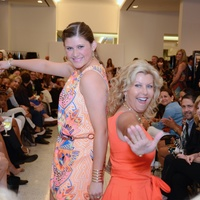 18 Kendall Plank, left, and Susan Plank at Fashion Gene at Tootsies May 2014
