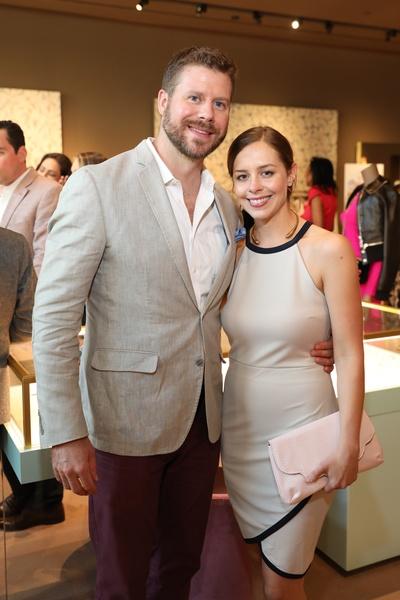 David and Sarah Keck at Houston Grand Opera party at The Webster