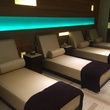 Resting beds at the Spa at the Golden Nugget in Lake Charles