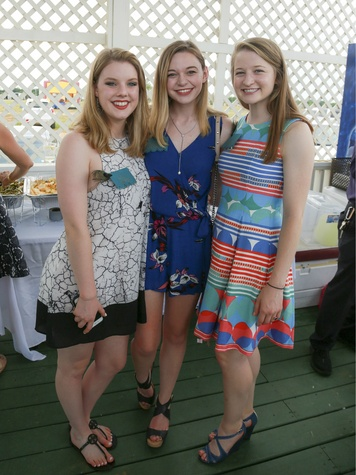 Lilli Boren, Ashlyn Matthews, and Juliana McIlveene