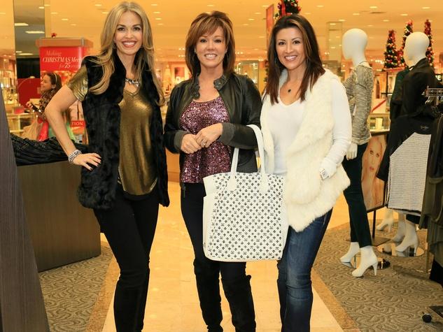 Laurie Graham, Kelli Finglass, Gina Owen, MISS ME JEANS fashion show