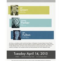 "Kinder Institute for Urban Research presents ""3 Mayors, 3 Cities, 1 Night"""