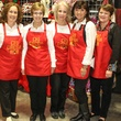 Alice Show, Jackie Counts, Nancy Newbold, Connie Baird and Kellye Price, Chi O Christmas Market