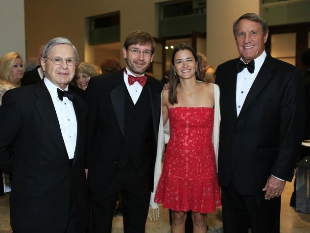 Mike Boone, Adam and Blythe Koch, Steve Smith, Flora Award