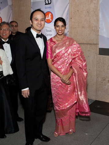 346 Huan Le and Rekha Le at Tiger Ball March 2014