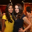 HGO Ovation Awards announcement and reception, March 2013, Divya Brown, Melissa Fitzgerald