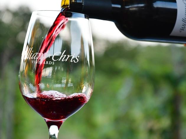 William Chris Vineyard red wine