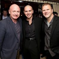Golden Nugget in Atlantic City Haven Nightclub grand opening May 2013 Mark  Kelly, Pitbull, Tilman Fetitta