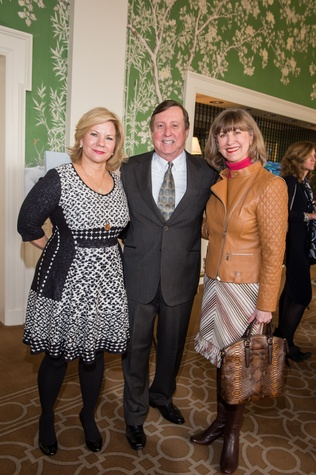10 Jean Brackendorff, from left, Frank Hood and Charlotte Jones at the HSPVA 9th Annual Encore for Excellence luncheon February 2015