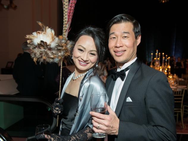 29 Bridgitte & Eugene Lee at the Houston Ballet Ball February 2015