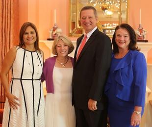 San Francisco Nativity Academy Luncheon, 6/16, Daniela Simpson, Cathy Garcia-Prats, David Wuthrich, Tara Wuthrich