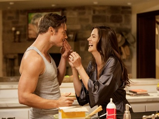 Josh Henderson and Julie Gonzalo in Dallas on TNT