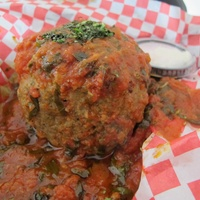 Ruthie where to eat right now October 2013 City Oven giant meatballs