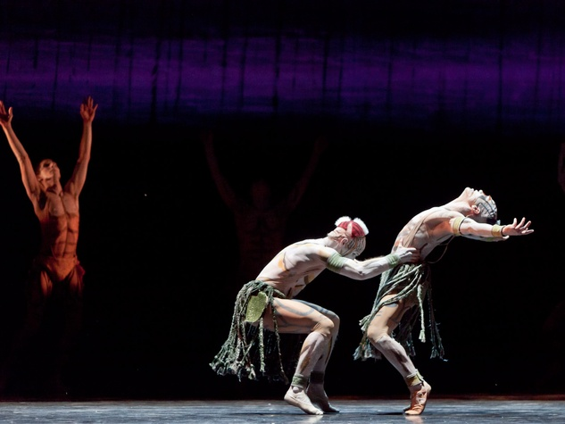 6640, Houston Ballet, Rite of Spring, March 2013, Christopher Gray and Jim Nowakowski