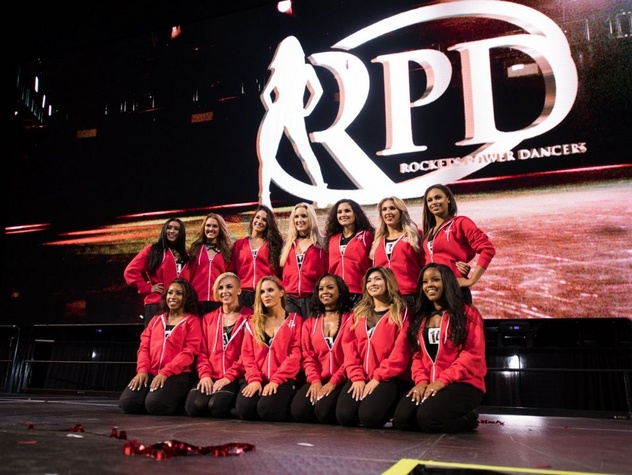 Houston Rockets Power Dancers winning team 2017