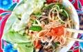 Thai-Kun Austin papaya salad