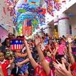 Houston, Kidpendence Day at Children's Museum, June 2015