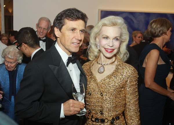 The Menil 25th anniversary gala, December 2012, Josef Helfenstein and Lynn Wyatt
