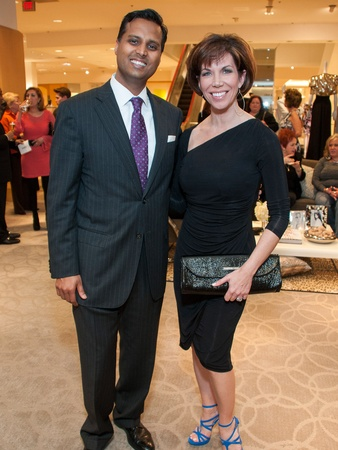 18, I Am Waters Kick-off Party, February 2013, Dr. Aashish Shah, Roseann Rogers