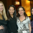 Audrey Cochran, from left, Ting Bresnahan, Viviana Denechaud and Candace Thomas at the Houston Symphony POPS Event with Steven Reineke & Sutton Foster February 2015