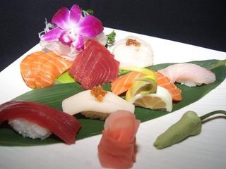 Sushi from hibashi