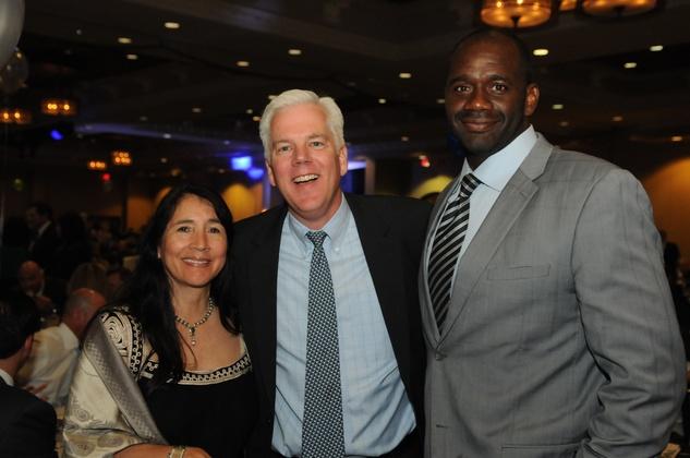 News, KIPP Academy gala, April 2015, Marissa Klussman, Duncan Klussman, Jerry Davis