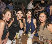 Gem and Bolt mezcal launch party Whisler's Mexcaleria Tobala June 2016 Michelle Teague AdrinaAdrin Lorna Leedy