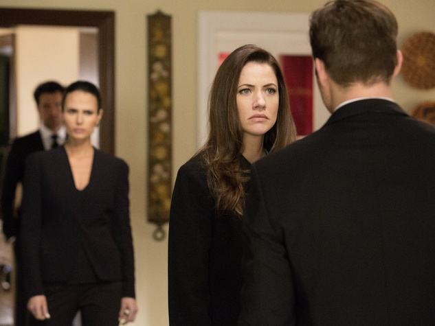 Julie Gonzalo and Josh Henderson on TNT's Dallas season 3