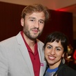 60 Justin Lasiewicz and Heliz Forouzan at the Asia Society Texas Center Kobe beef Cook-off December 2014