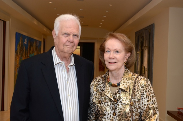 Don and Shirley Rose at the MFAH Contemporary party January 2014