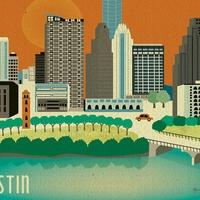 Austin Photo Set: News_Sam_Austin etsy_june 2012_austin skyline