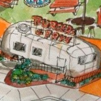 Food truck park, Greenville Avenue