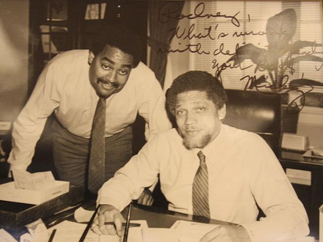 Mickey Leland and Rodney Ellis