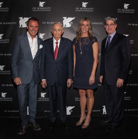 News, Shelby, JW Marriott opening, Colin Cowie, Bill Marriott, Mitzi Gaskins, Paul Cahill, Nov. 2014