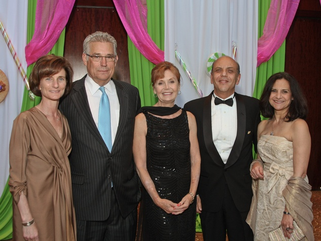 Nora's Home May 2013 Laura Pontikes and George Pontikes, Kayla Lehmann and Drs. Osama Gaber and Lillian Gaber