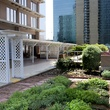 Rooftop garden at Fairmont Dallas hotel