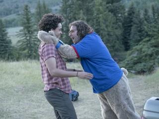 Jorge Lendeborg Jr. and Kyle Mooney in Brigsby Bear