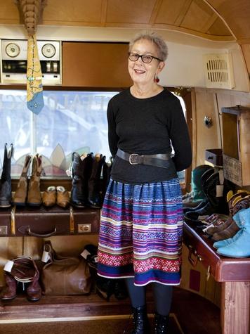 Buffalo Exchange founder Kerstin Block