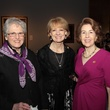 MFAH War Photography dinner, November 2012, Carey Shuart, Sandy Godfrey, Gail Adler