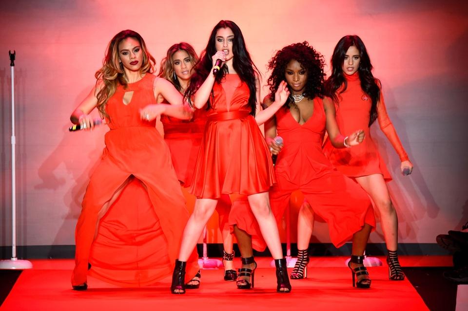 26 Clifford New York Fashion Week Fall 2015 Go Red for Women February 2015 Fifth Harmony